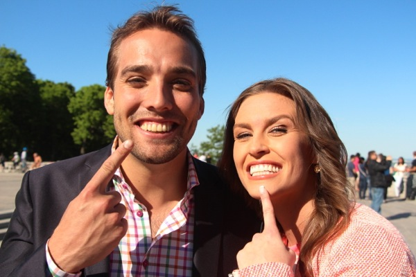 Wilder Weir and Alyson Lozoff: Perfect teeth