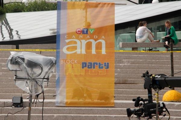Canada AM block party