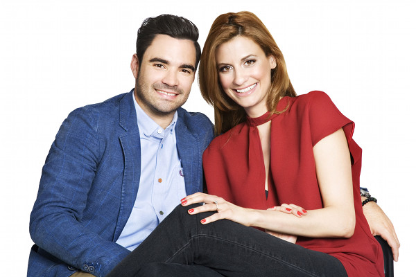 Alexandre Despatie and Joanne Vrakas (Photo: Rogers Media)