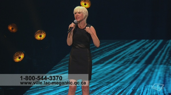 Wrong number appears on screen for Lac Mégantic benefit concert