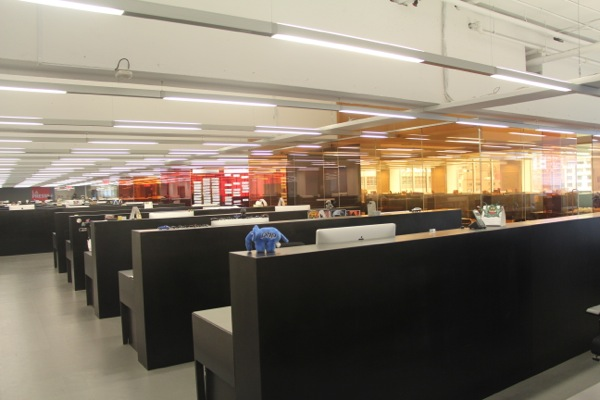 Newly renovated offices in the La Presse building