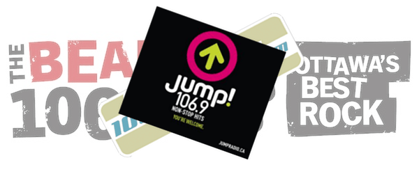 "The Bear was rumoured to become Fresh FM 106.9 but has instead relaunched as Jump! with the tag line ""non-stop hits"""