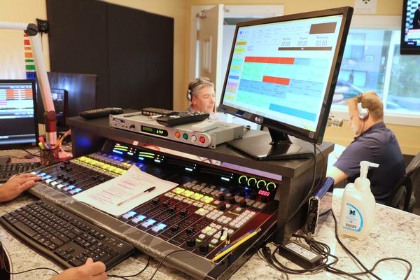 CFMB's main studio.