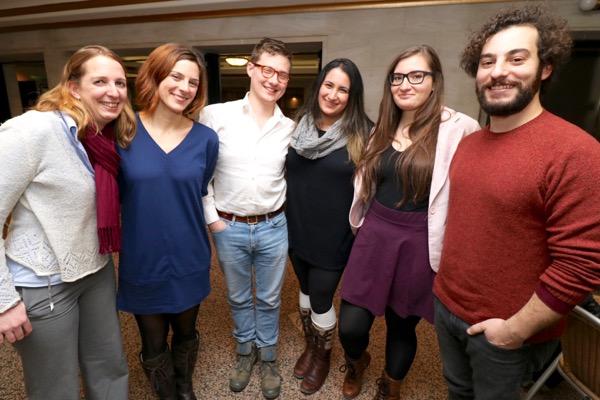 Concordia journalism bursary winners from 2014-15.