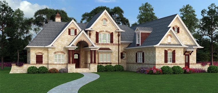 French country home plan family home plans blog for French country house blog