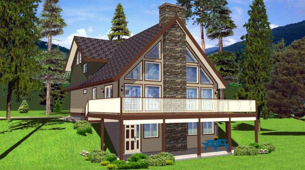 Best selling a frame house plans family home plans blog for Home selling design