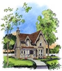 Fancy Victorian Cottage Plans   Family Home Plans Blog