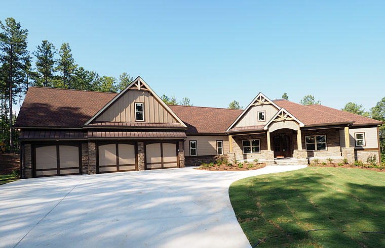 New craftsman house plan for a busy family family home for New craftsman house plans