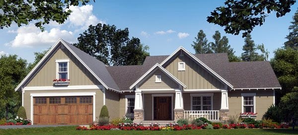 Craftsman House Plan Video Tour