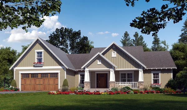 Craftsman House Plan with Video Tour
