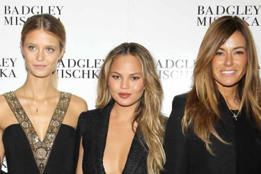 BADGLEY MISCHKA Fall 2015 During Mercedes-Benz NY Fashion Week - Backstage and Front Row