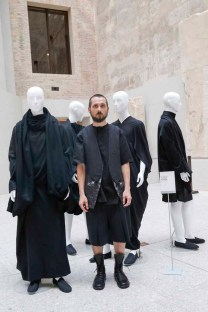 BERLIN, GERMANY - JULY 06: Kai Gerhardt during the award ceremony European Fashion Award FASH 2015 by SDBI at Neues Museum Berlin on July 6, 2015 in Berlin, Germany. (Photo by Isa Foltin/Getty Images for FASH2015_SDBI.DE)