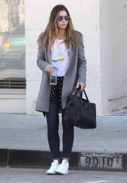 Jessica Biel Out Shopping In West Hollywood