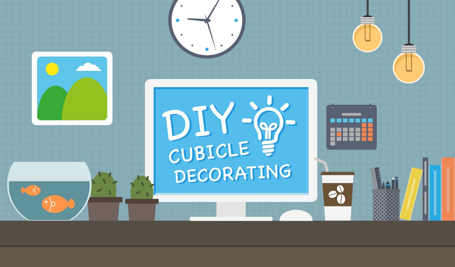 Do-It-Yourself Decorate Your Cubicle