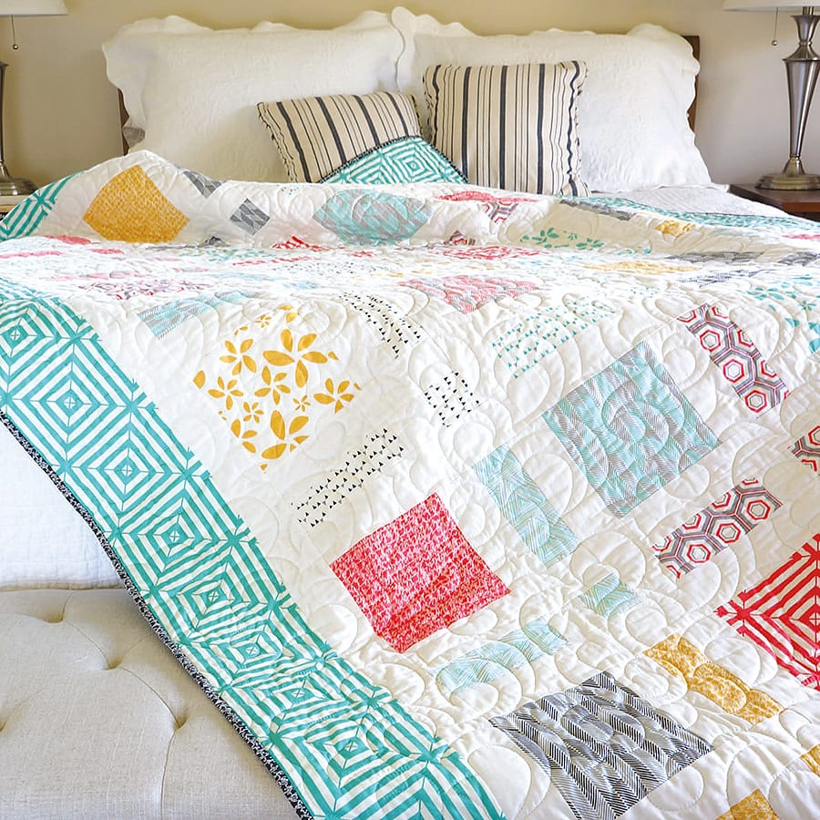 Moderne Quilts Moderne Pop Quilt Kit The Jolly Jabber Quilting Blog