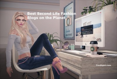 Top 40 Second Life Fashion Blogs and Websites on the Web