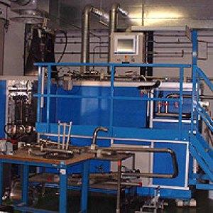 Banc d'essais des vannes carburant du RAFALE