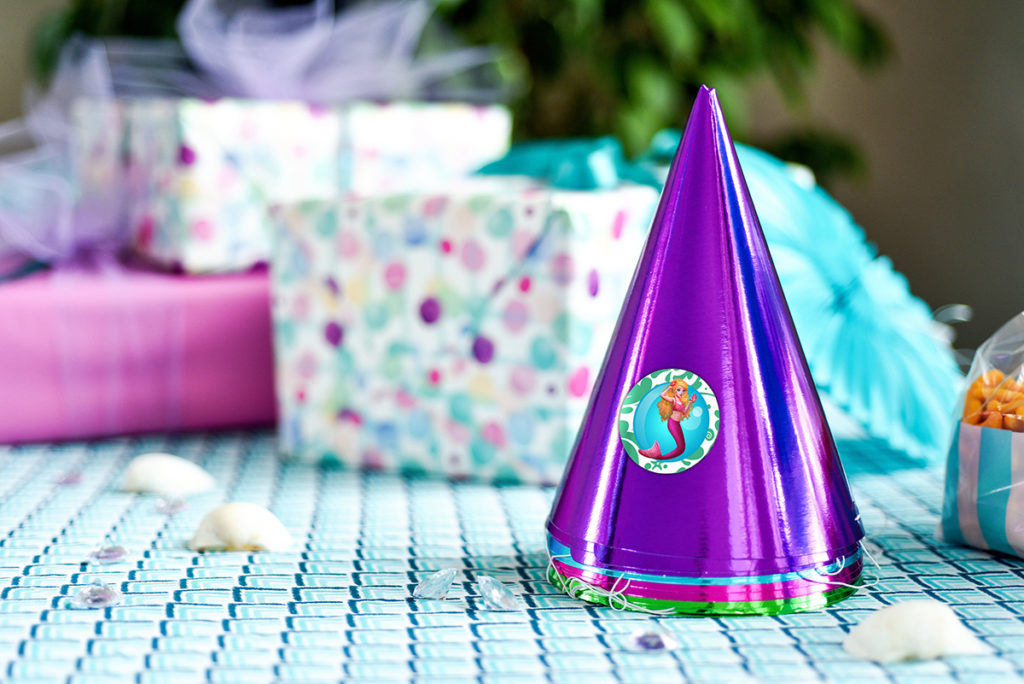 FREE Mermaid Princess Party Printables Fin Fun Blog
