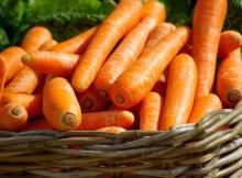 warzywa sezonowe marchew właściwości