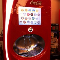 Five Guys has the best soda machine!