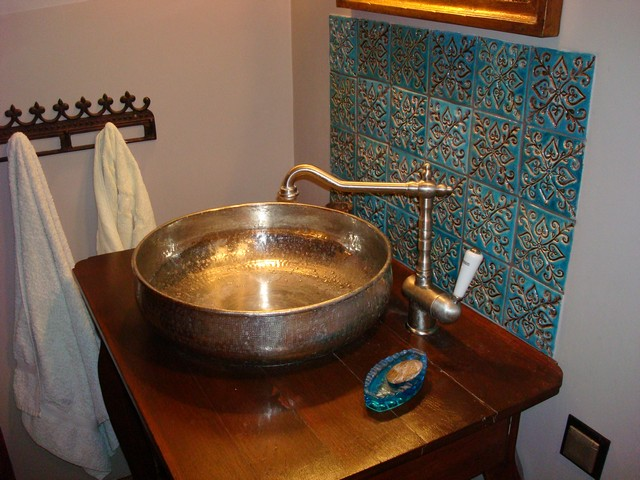 Vintage Waschbecken   Badezimmer Ideen Designer \ Vintage   Badezimmer Retro