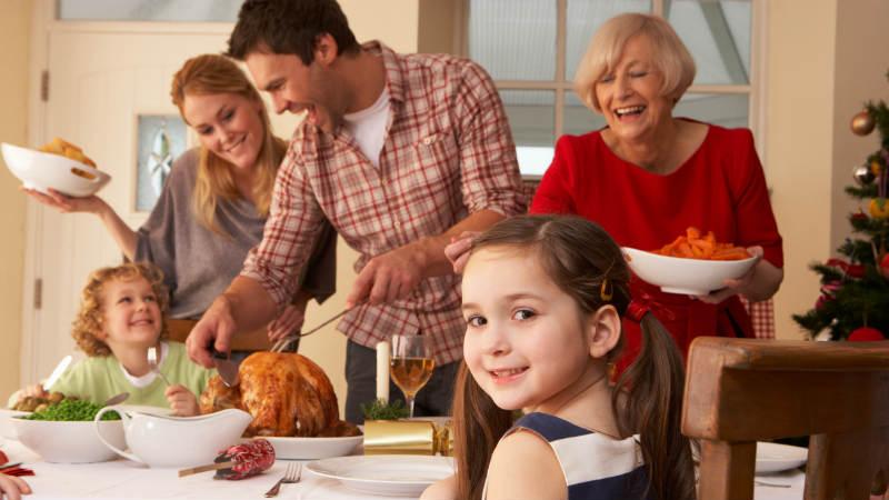 Diez consejos para organizar comidas familiares en Navidad - Flota