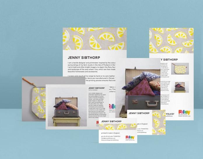 Custom MOO cards, postcards and flyers for Folksy sellers Folksy Blog