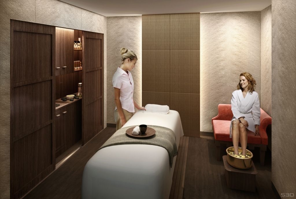 Gallery for gt spa treatment room