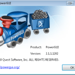 PowerGUI Splash Screen