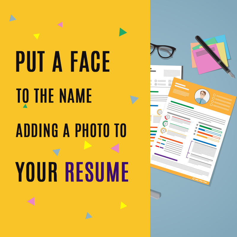 Put a Face to the Name, Adding a Photo to Your Resume Fotor\u0027s Blog