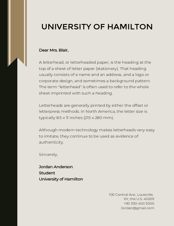 How to Design A Professional Letterhead for Your Business Fotor\u0027s Blog