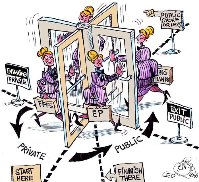 """""""Zablokujcie drzwi obrotowe"""" – stanowisko obywateli UE przekazane Komisji Europejskiej"""
