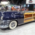 Classic car at 2013 Chicago Auto Show