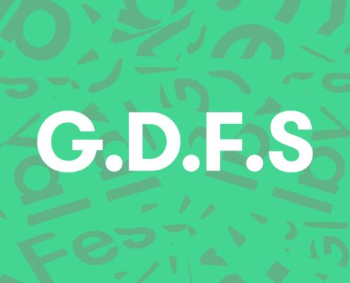 Graphic Design Festival Scotland logo illustration