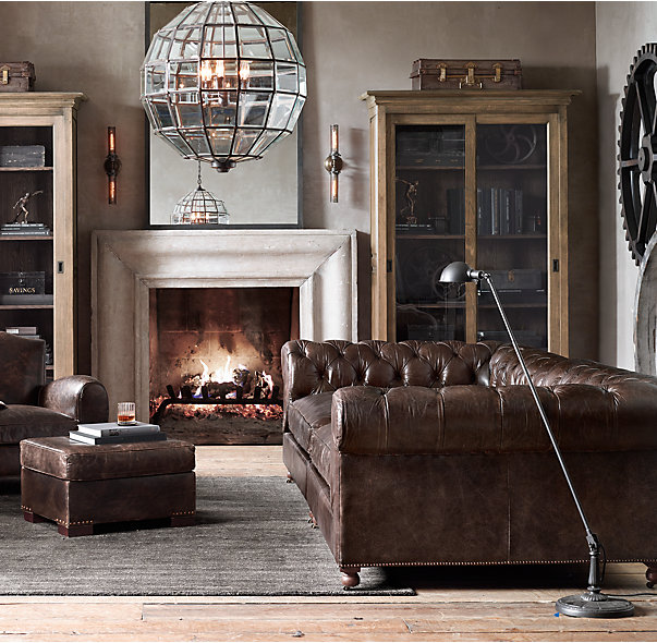 Industrial Decor Ideas \ Design Guide - FROY BLOG - industrial living room ideas