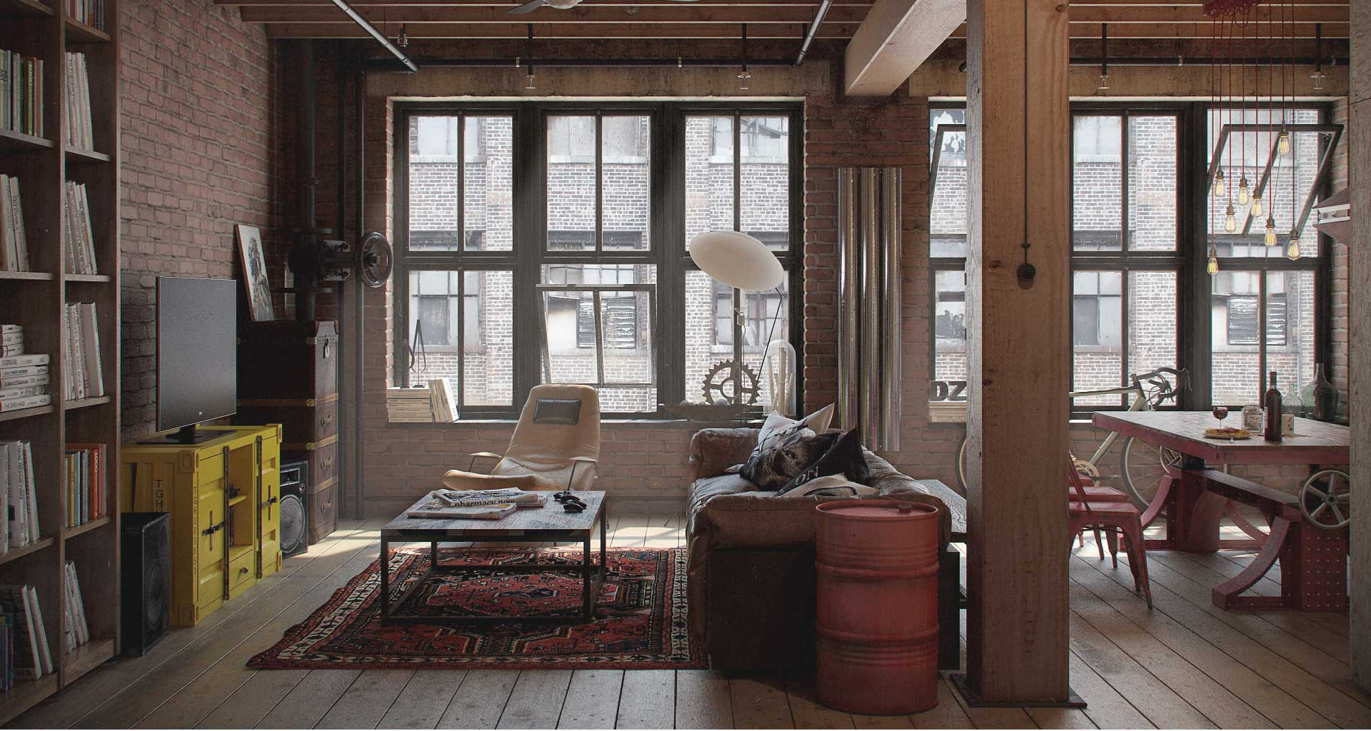 Decor Oriental Chic Industrial Decor Ideas Design Guide Lazy Loft By Froy