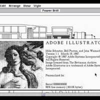 Introdução ao Adobe Illustrator em 1987