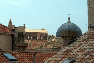 Old city roof tops