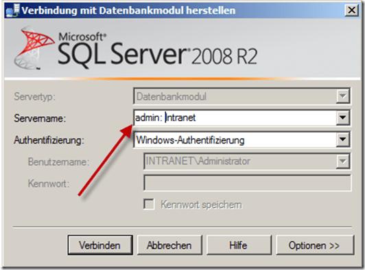 Hallo sa – Wenn SQL Server den Zugriff verweigert