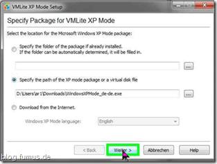 Windows 7 XP-Mode 64 bit mit USB ? VMLite!