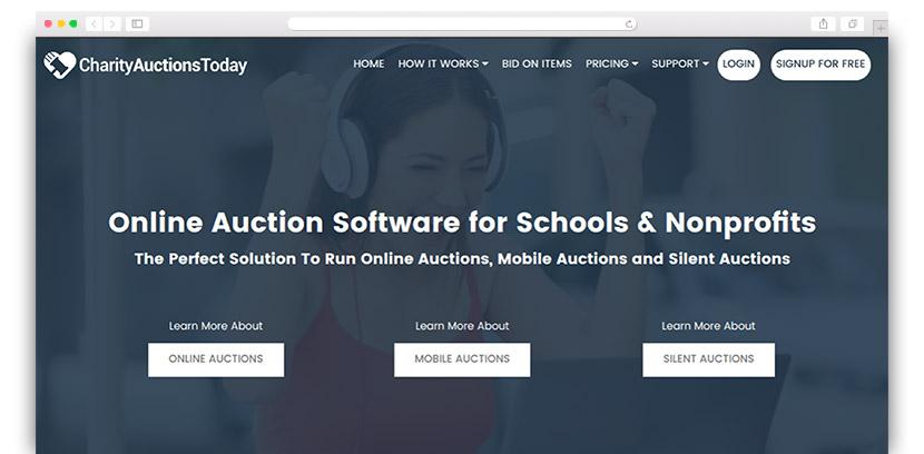 Silent Auction Bidding App kicksneakers