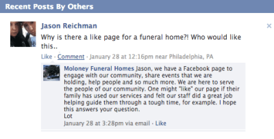 funeralOne Blog » Blog Archive 8 No-Brainer Reasons Why Your Funeral Home Should Be on Facebook