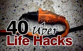 40 Uber Life Hacks