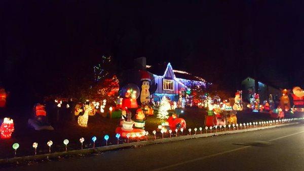 The Matorana Christmas House Holiday Light Show In NJ