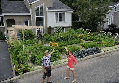 Saved a front yard vegetable garden in quebec gardener