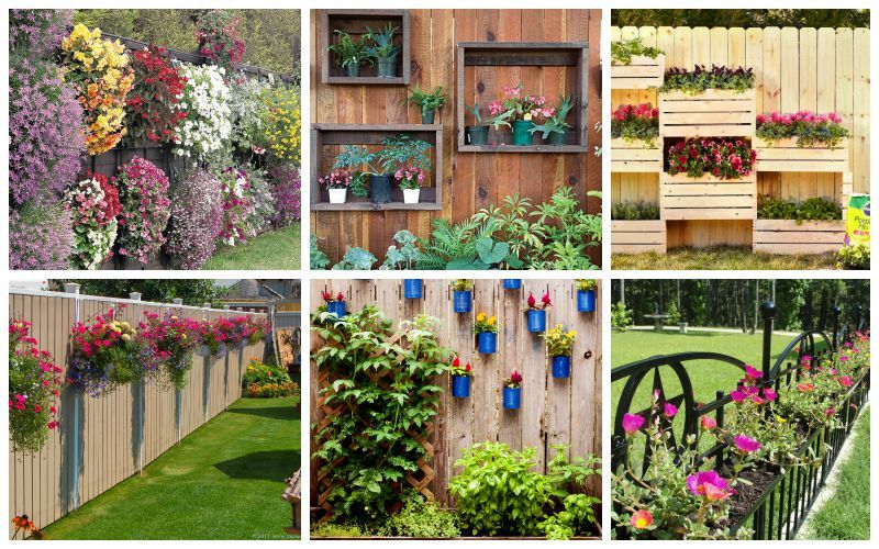 25 Fence Planters That39ll Have You Loving Your Privacy
