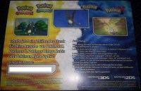 Eventpokemon Codes fr Pokemon Rubin, Saphir, X, Y