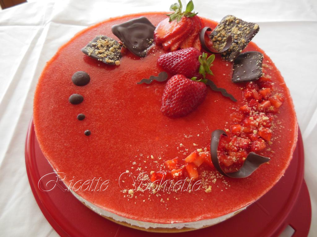 La Cucina Italiana Cheesecake Alle Fragole Come Decorare Una Cheesecake Idea D Immagine Di Decorazione