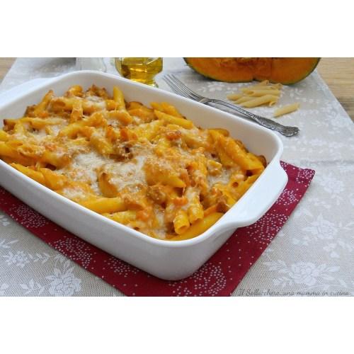 Medium Crop Of Pasta Al Forno