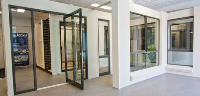Visit the new G.James showroom for window & door displays and expertise.